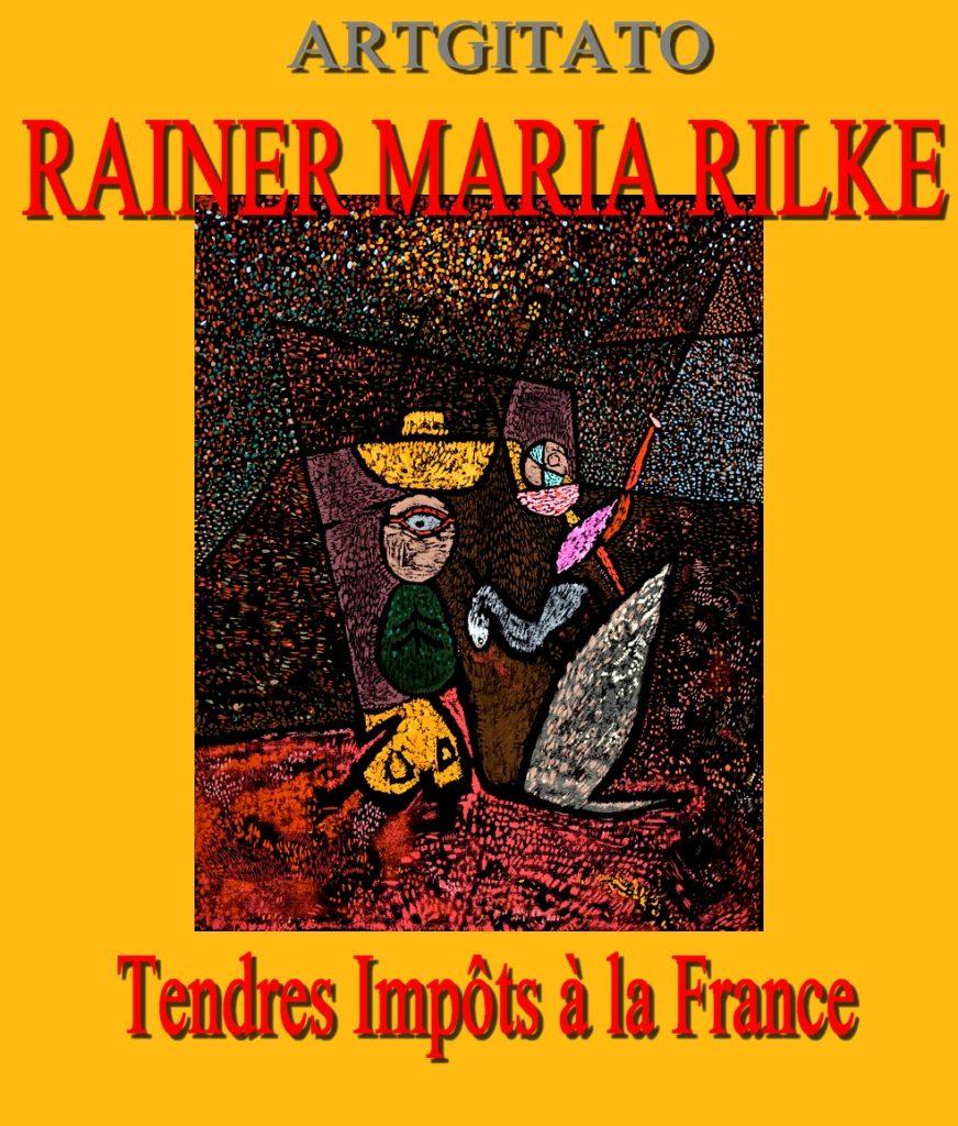 Tendres impôts à la France Rainer Maria Rilke Artgitato Le Cirque ambulant 1940 Musée d'Art de São Paulo