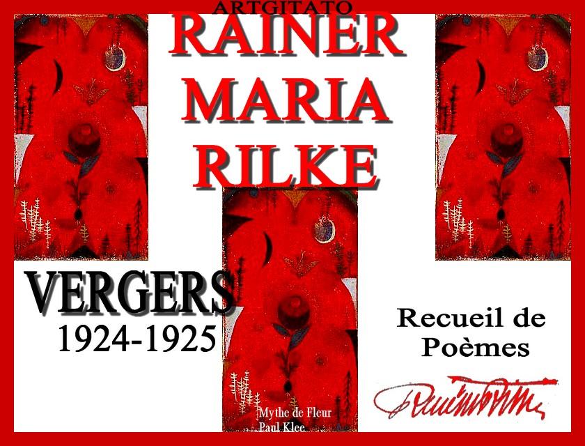 Vergers Rainer Maria Rilke 1924 1925 Artgitato Paul Klee Mythe de Fleur 1918