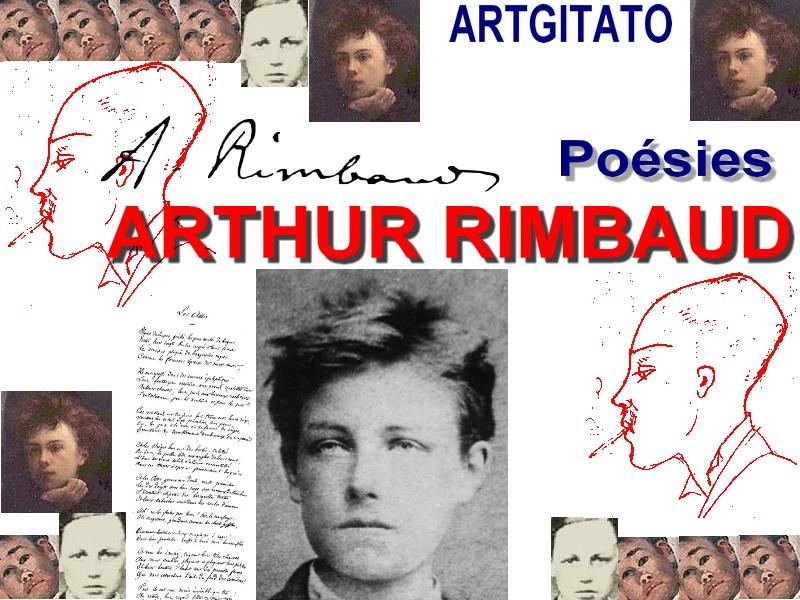 Arthur Rimbaud Poésies Oeuvre Poèmes Poésie Artgitato