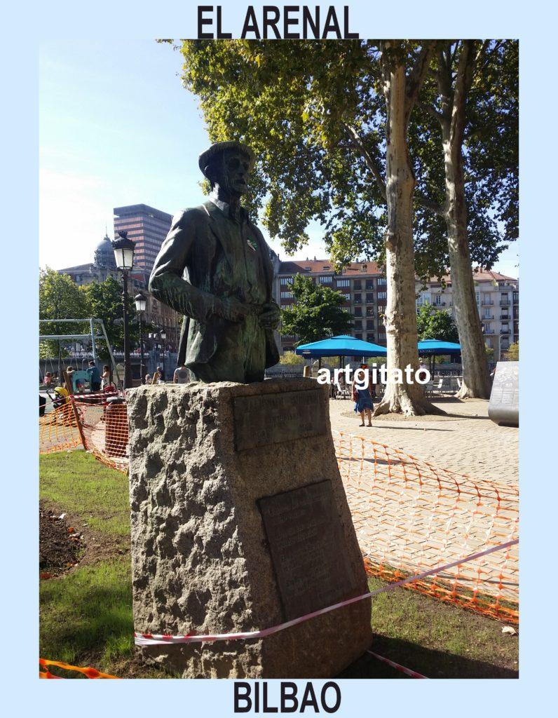 estatua-del-bertsolari-balendin-enbeitia-en-el-arenal-el-arena-bilbao-espagne-artgitato-2