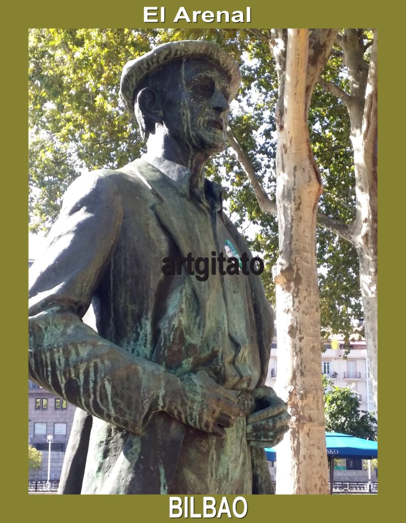 estatua-del-bertsolari-balendin-enbeitia-en-el-arenal-el-arena-bilbao-espagne-artgitato-3