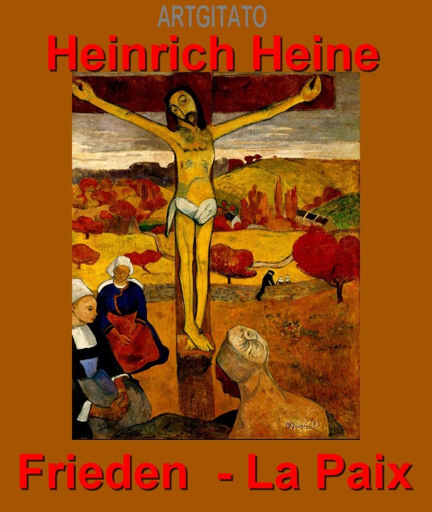 Frieden Heine La Paix Heine Heinrich Artgitato Gauguin Le Christ jaune