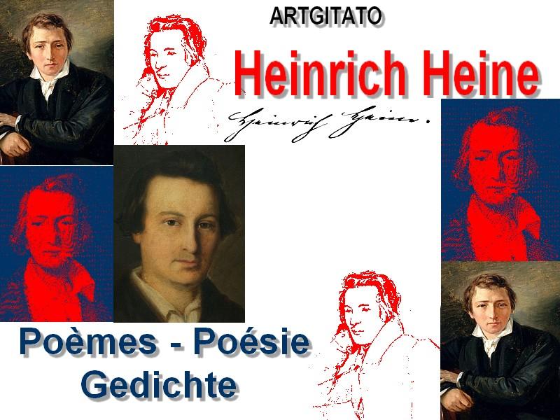 Heine Poèmes Gedichte Buch der Lieder Oeuvre Poèmes Poésie Gedichte Artgitato