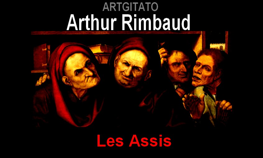 Les Assis Arthur Rimbaud Artgitato Quentin Metsys Les usuriers 1520