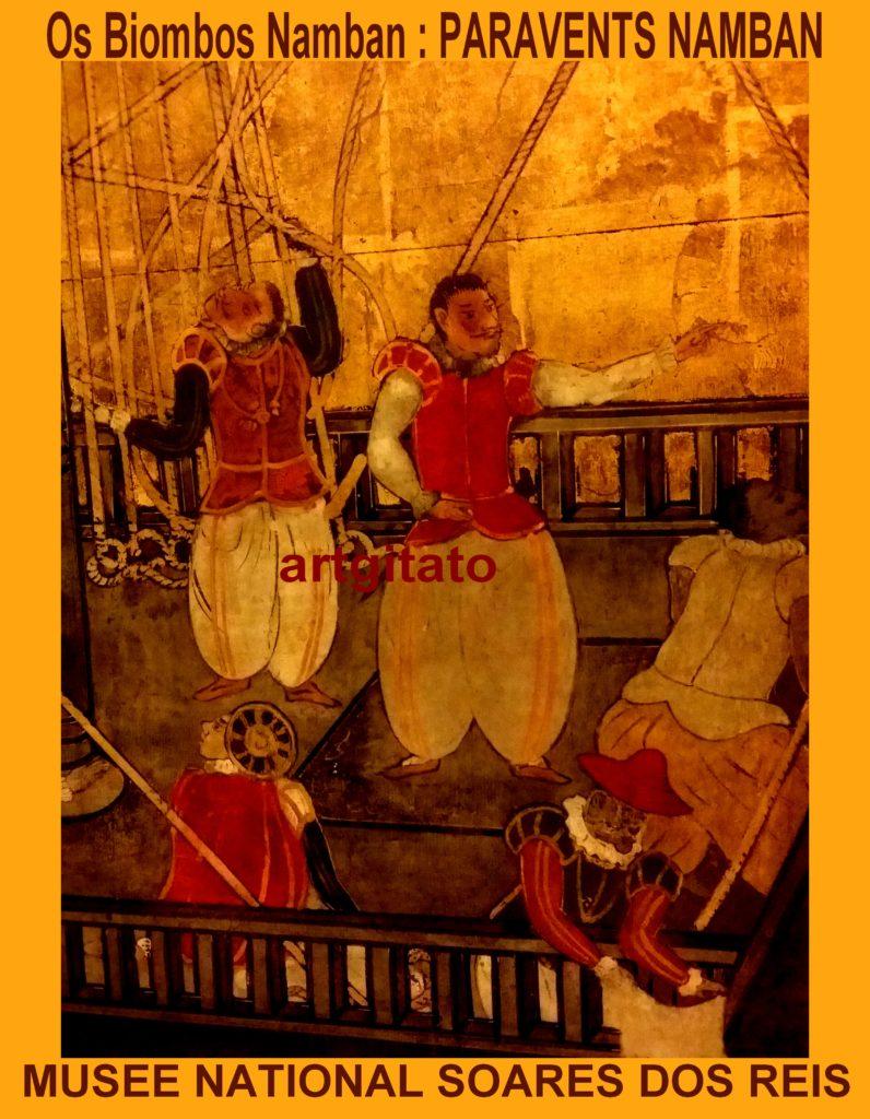 os-biombos-namban-paravents-namban-xviie-musee-national-soares-dos-reis-artgitato-porto-18
