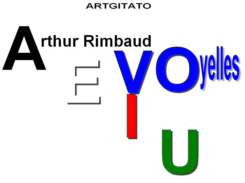 Voyelles Arthur Rimbaud Artgitato
