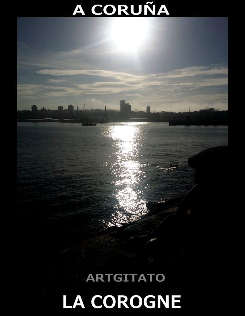 a-coruna-la-corogne-artgitato-espagne-espana
