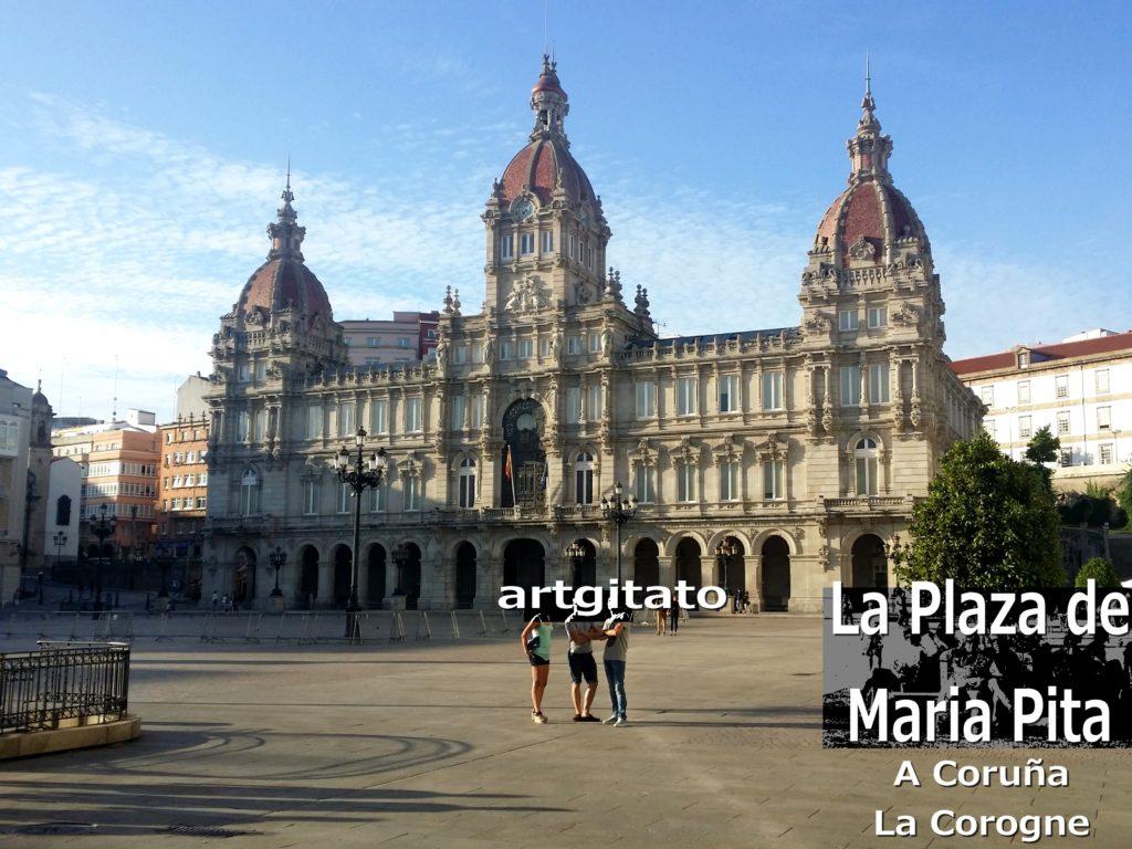 la-plaza-de-maria-pita-a-coruna-la-corogne-artgitato-2
