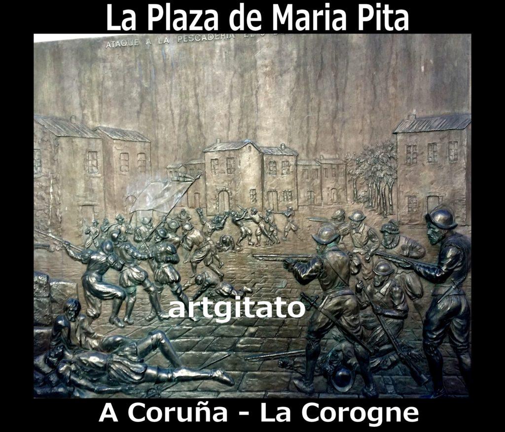 la-plaza-de-maria-pita-a-coruna-la-corogne-artgitato-3