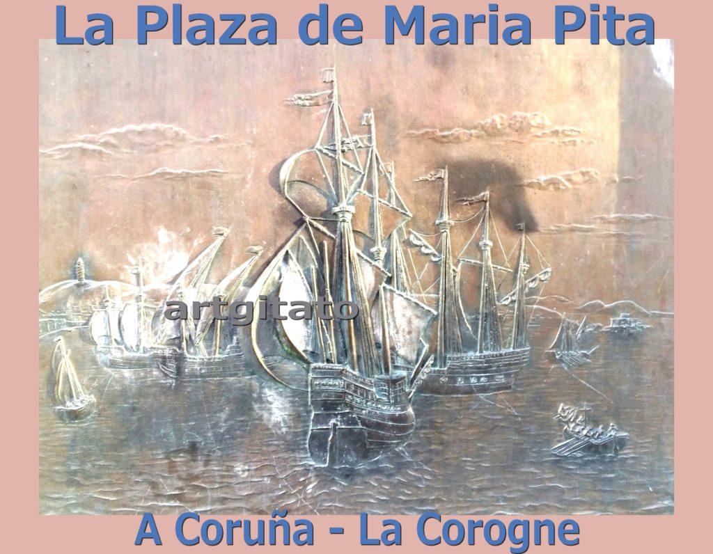 la-plaza-de-maria-pita-a-coruna-la-corogne-artgitato-6