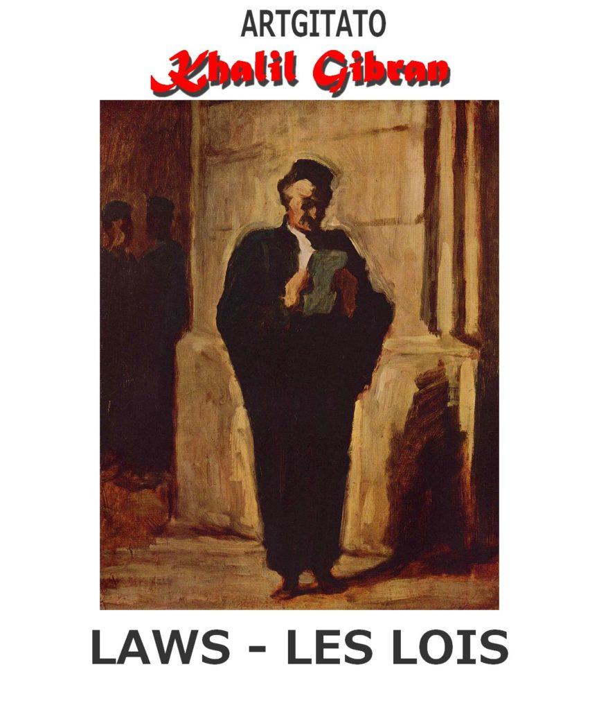 laws-khalil-gibran-les-lois-artgitato-lavocat-honore-daumier