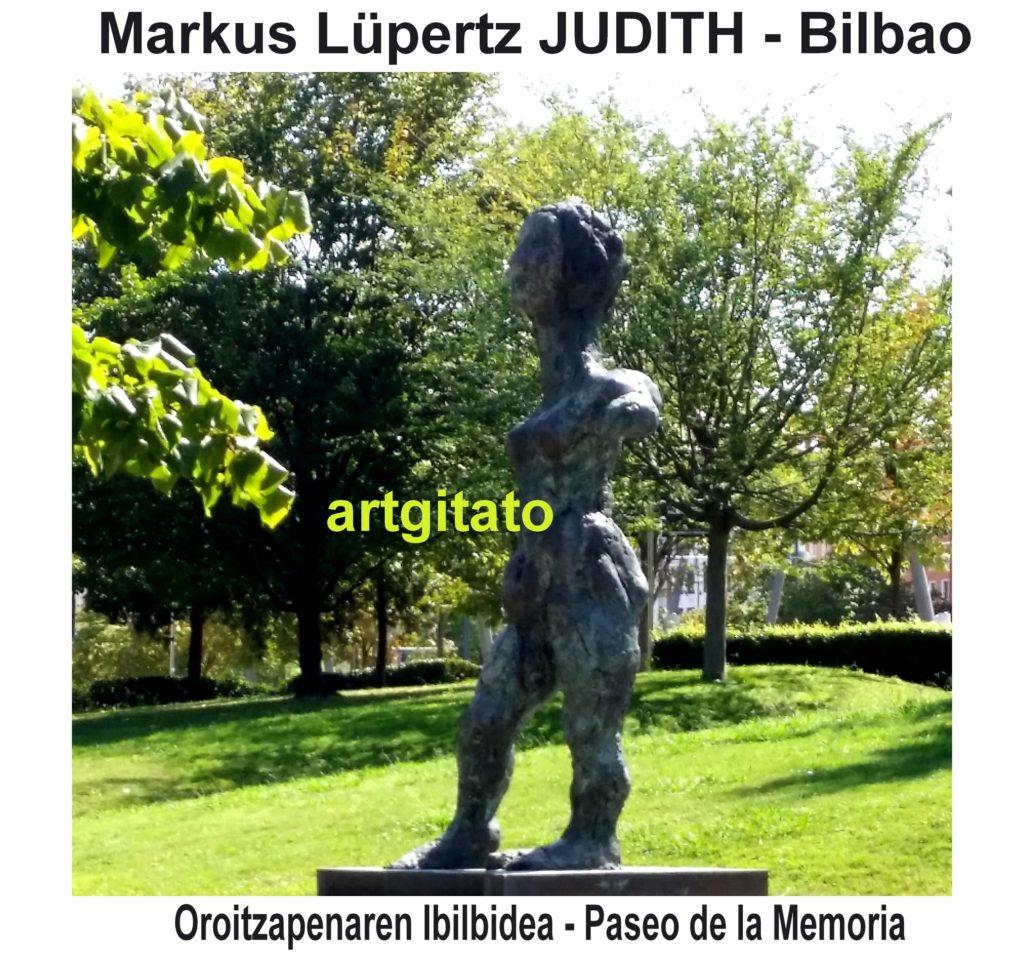 markus-lupertz-judith-bilbao-espagne-artgitato-1