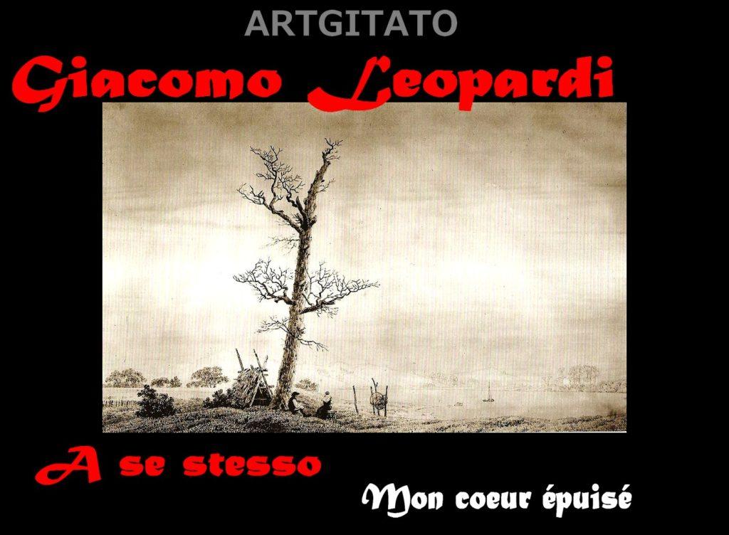 a-se-stesso-giacomo-leopardi-artgitato-caspar-david-friedrich-herbstabend-am-see-1805