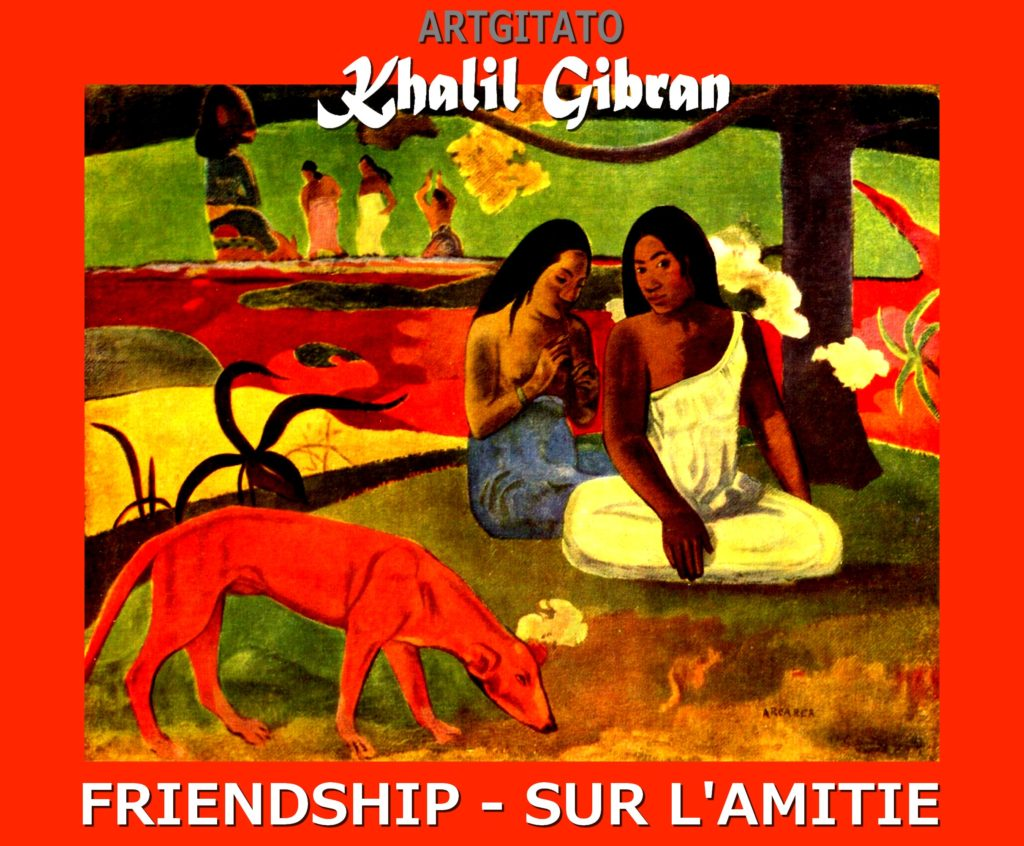 friendship-khalil-gibran-sur-lamitie-arearea-paul-gauguin-1892