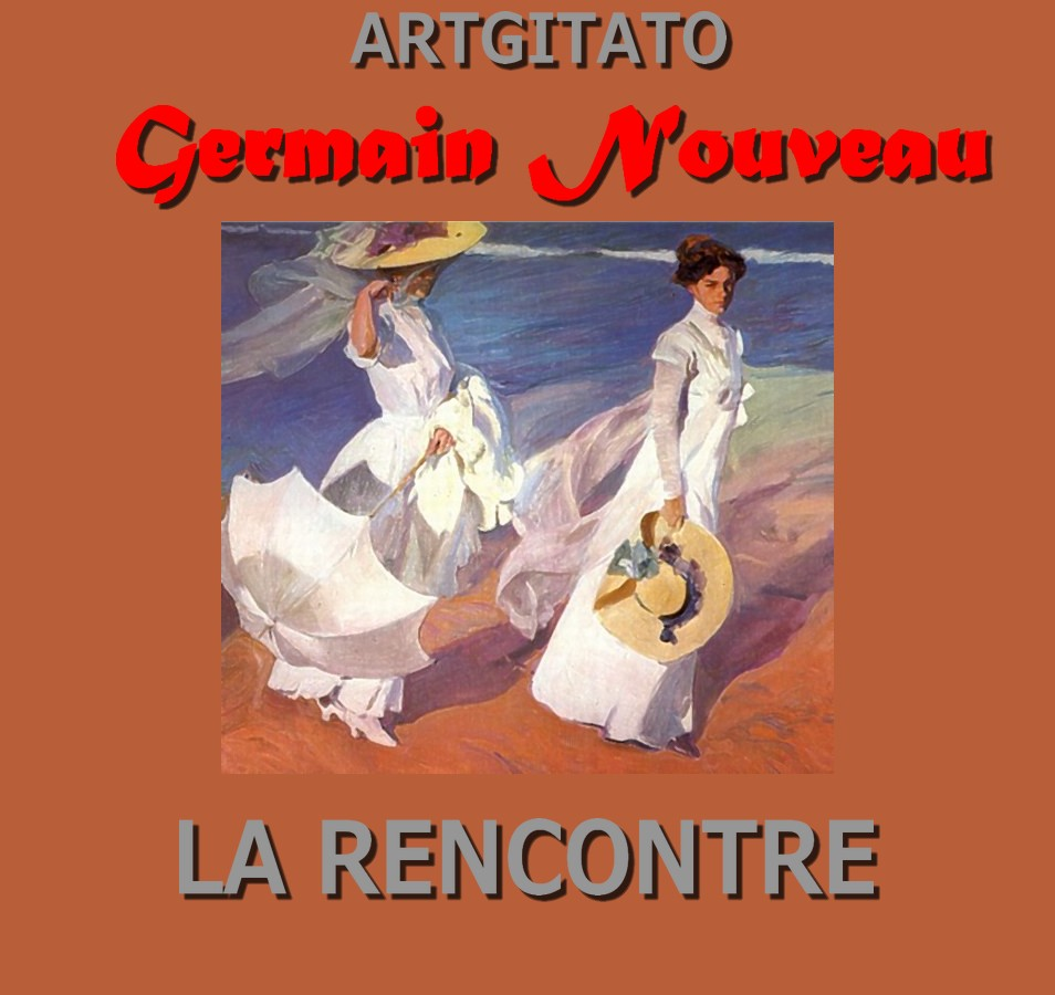la-rencontre-germain-nouveau-artgitato-joaquin-sorolla-promenade-au-bord-de-mer-1909