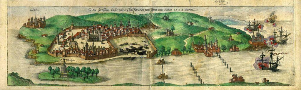 les-lusiades-camoes-os-lusiadas-artgitato-vue-vista-de-goa-em-1509-in-braun-e-hogenberg-1600