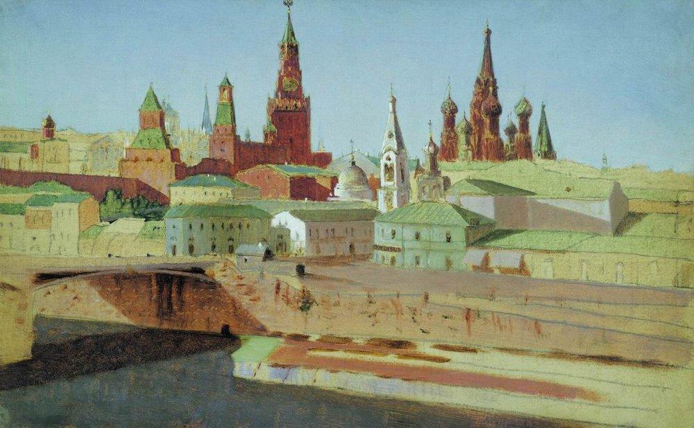 arkhip-kouindji-vue-sur-le-pont-de-la-moskova-moskvoretsky-1882