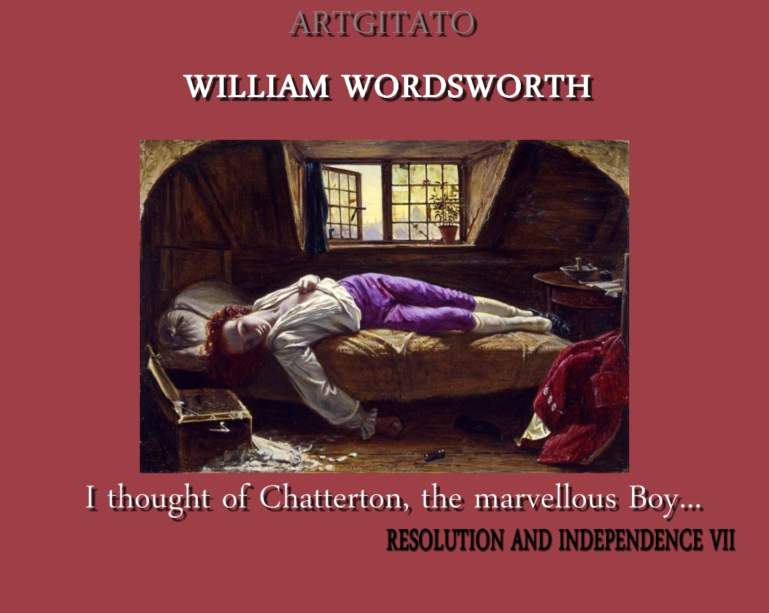 Essay resolution independence william wordsworth