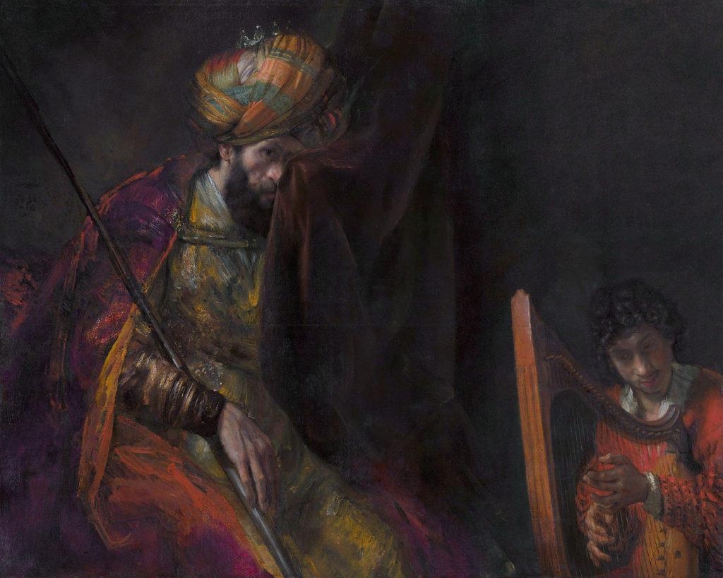 Os Lusiadas III Saül et David III-111 Luis de Camoes Rambrandt