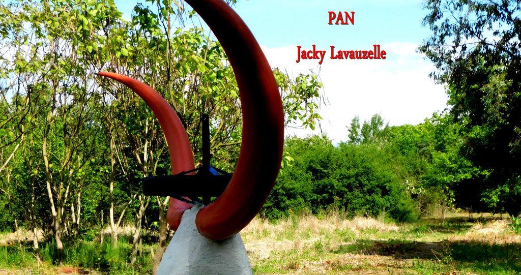 Sculpture Jacky Lavauzelle