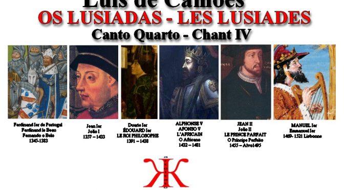 OS LUSIADAS LES LUSIADES Canto Quarto Chant IV – Sommaire – índice