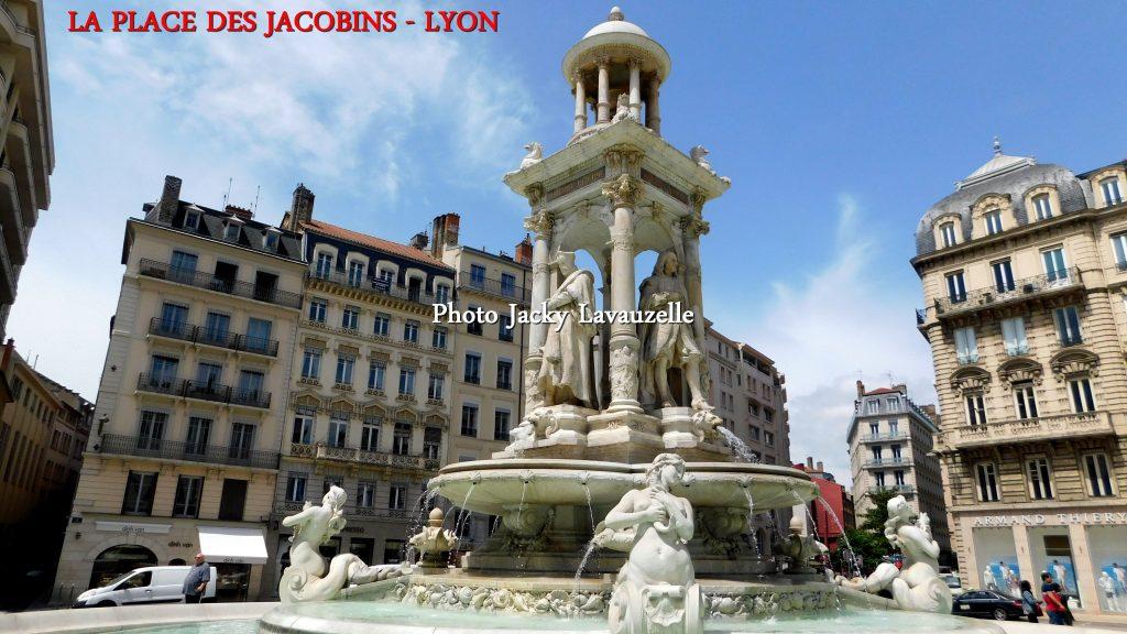 Place des Jacobins Lyon Photo Jacky Lavauzelle