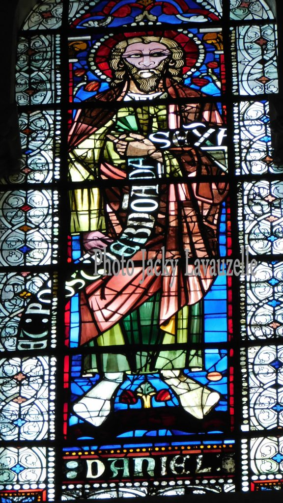 Prophète daniel Cathedrale saint-jean Photo Jacky Lavauzelle