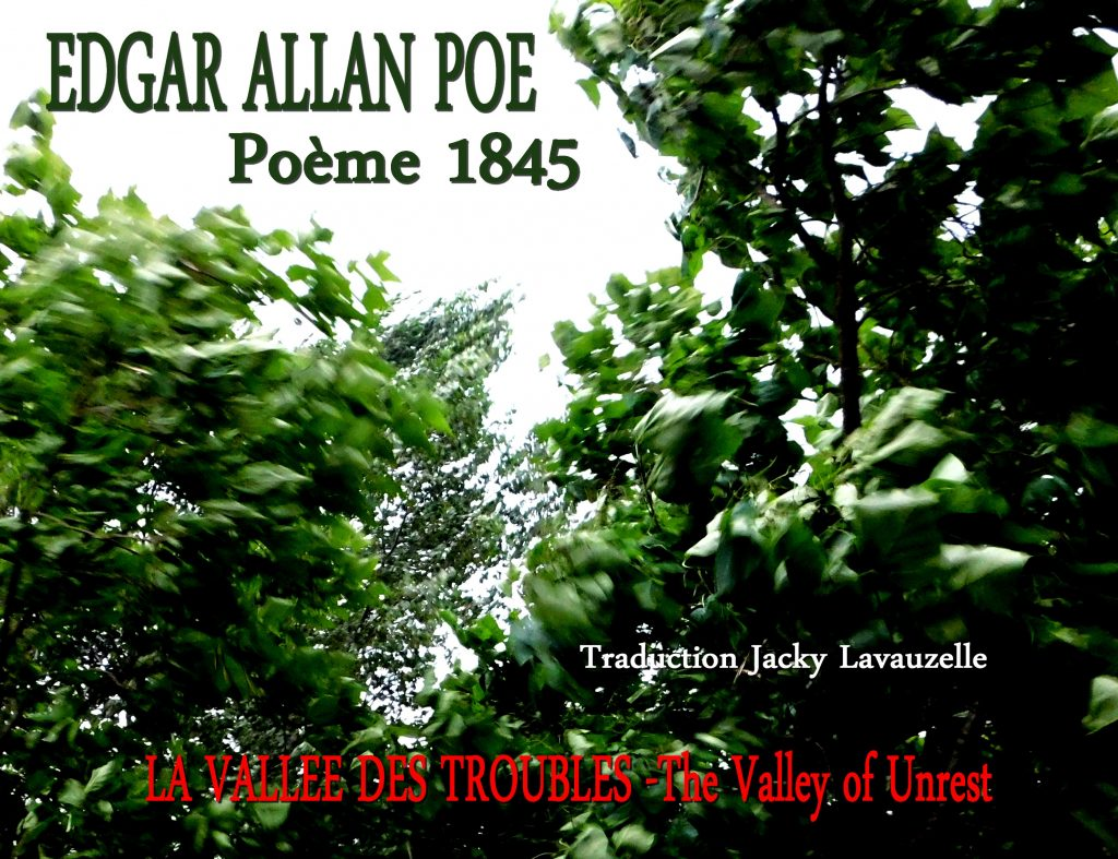 Edgar Allan Poe The Valley of Unrest Trad Jacky Lavauzelle