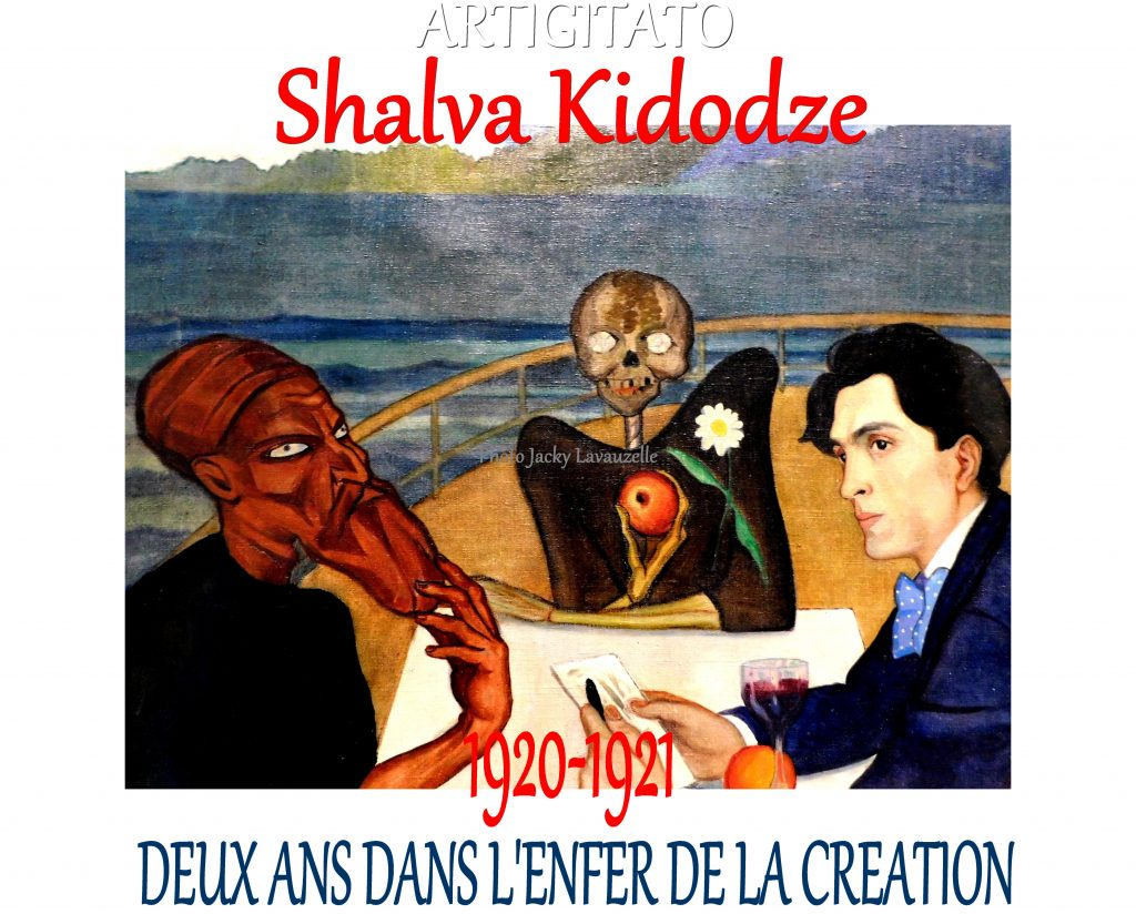 Shalva Kikodze - Photo Jacky Lavauzelle
