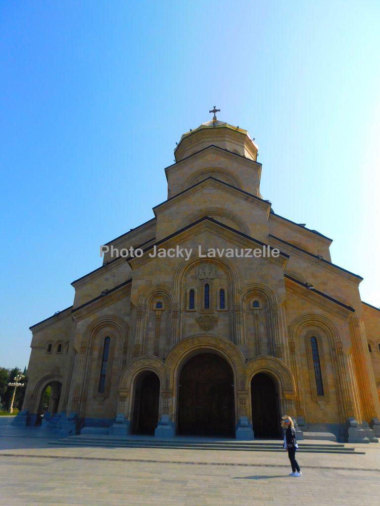 Cathédrale de la Trinité de Tbilissi SAMEBA