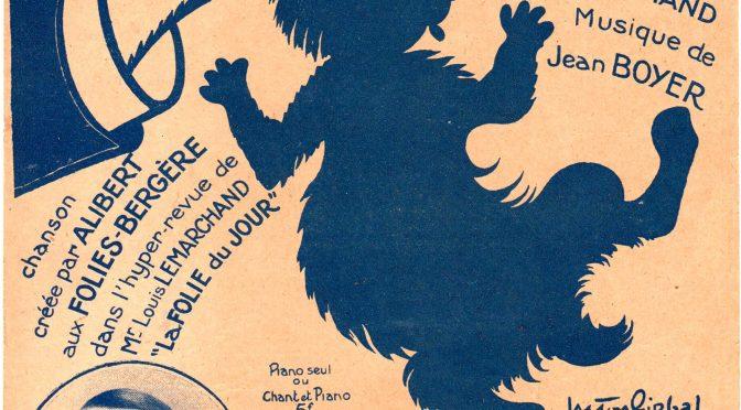 C'EST DU LAPIN (1926)- Chanson créée par ALIBERT aux FOLIES-BERGÈRE – Paroles de Lucien BOYER et Louis MARCHAND – Musique de Jean BOYER