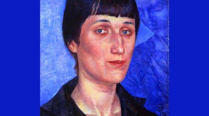 A ANNA AKHMATOVA – Poème de Marina Tsvétaïeva Марина Ивановна Цветаева- 1916
