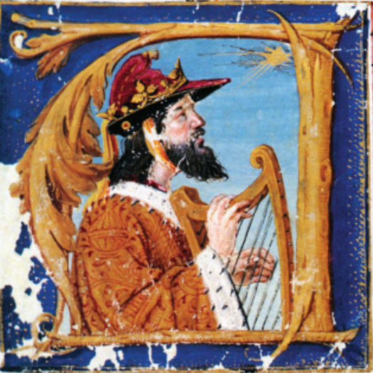 L'attribut alt de cette image est vide, son nom de fichier est King_Manuel_I_as_King_David.png.