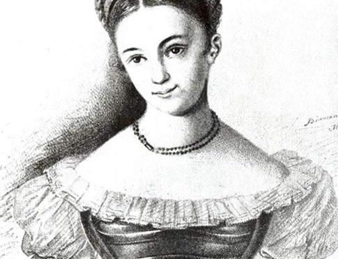 LE POÈTE – Poème de Caroline PAVLOVA – 1839 –  Поэзия Каролины ПАВЛОВОЙ – ПОЭТ