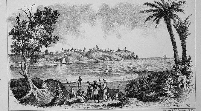 AU LARGE DU SIERRA LEONE – OS LUSIADAS V-12 – LES LUSIADES – LUIS DE CAMOES – Sempre enfim para o Austro a aguda proa