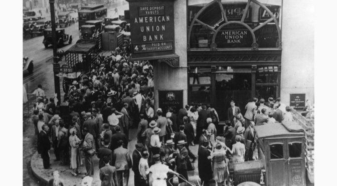 QUAND LES BOURSES S'EFFONDRENT – Poème de Kurt TUCHOLSKY – Gedicht von Kurt TUCHOLSKY – Wenn die Börsenkurse fallen – 1930