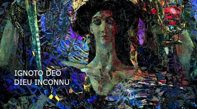 AU DIEU INCONNU- POEME DE ANTERO DE QUENTAL – IGNOTO DEO