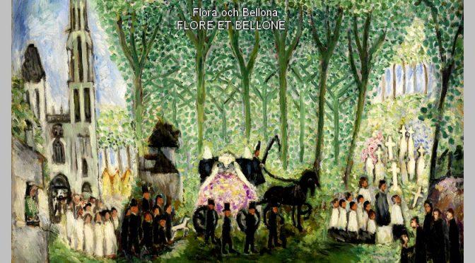 FLORE ET BELLONE Poème de Erik-Axel KARLFELDT – 1918- Flora och Bellona