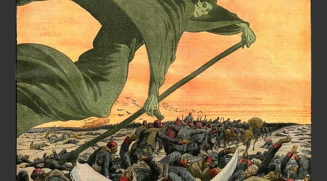 LA QUARANTAINE AU TEMPS DU CHOLÉRA – ALEXANDRE POUCHKINE – 1830 – Румяный критик мой
